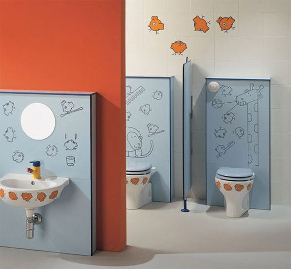 Picture of kids bathroom design ideas for Children bathroom ideas