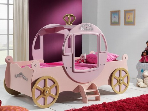 There are girl car beds too. Perfect for little princes.