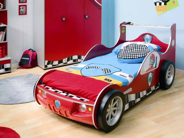 Picture Of Kids Beds Like Cars