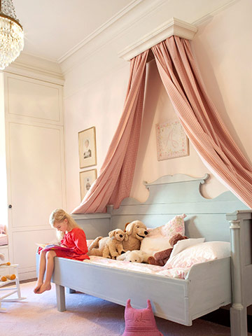 Kids Canopy Headboard