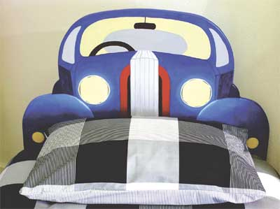 Kids Car Headboard