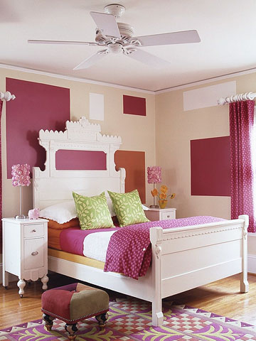 Kids Castle Headboard