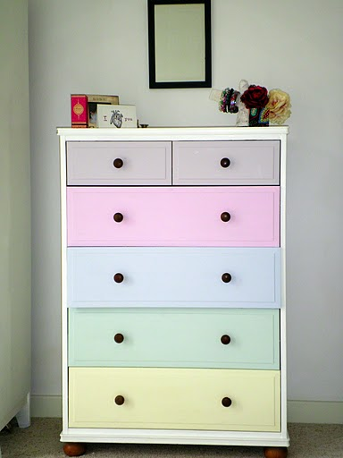 Before after kids chest of drawers shelterness - Repeindre une commode ...