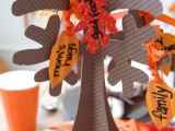 Kids Thanksgiving Paper Tree