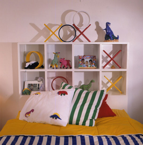 Kids Toy Display Headboard