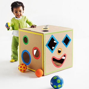 5 Cool Kids Toys You Can Make Of Cardboard Boxes