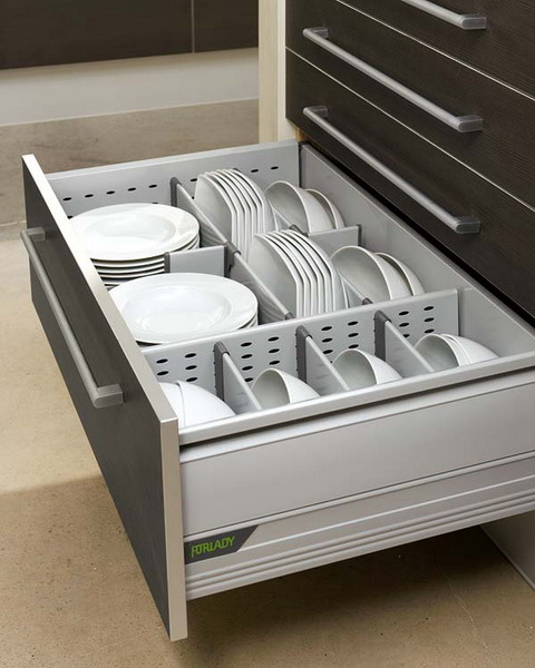 Simple Dishes Organizer Works Really Well.