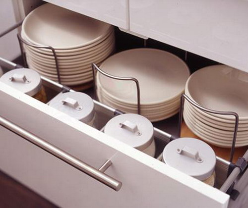 70 practical kitchen drawer organization ideas shelterness - Cajones de cocina ikea ...
