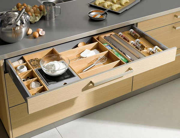 Kitchen drawer organization ideas 3