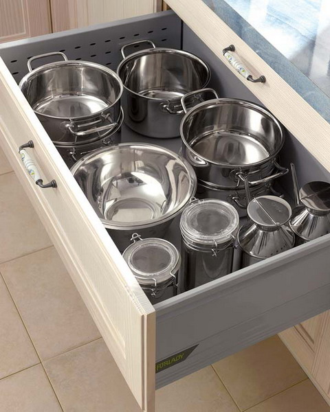 Kitchen Drawers 70 practical kitchen drawer organization ideas - shelterness