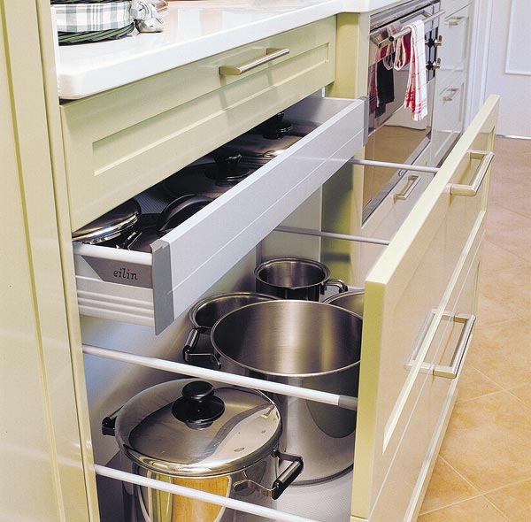 Kitchen drawer organization ideas 33