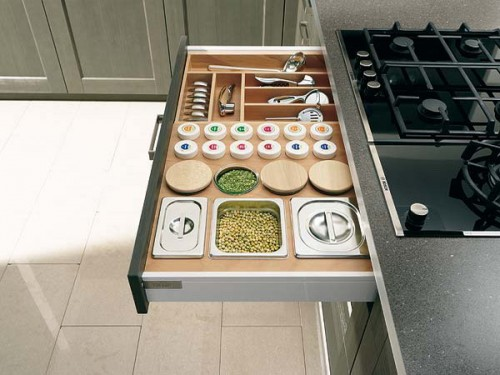 Top Drawer Is Perfect For Grains You Use The Most Too.