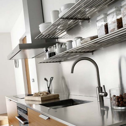 31 Practical Kitchen Rail Storage Ideas Shelterness