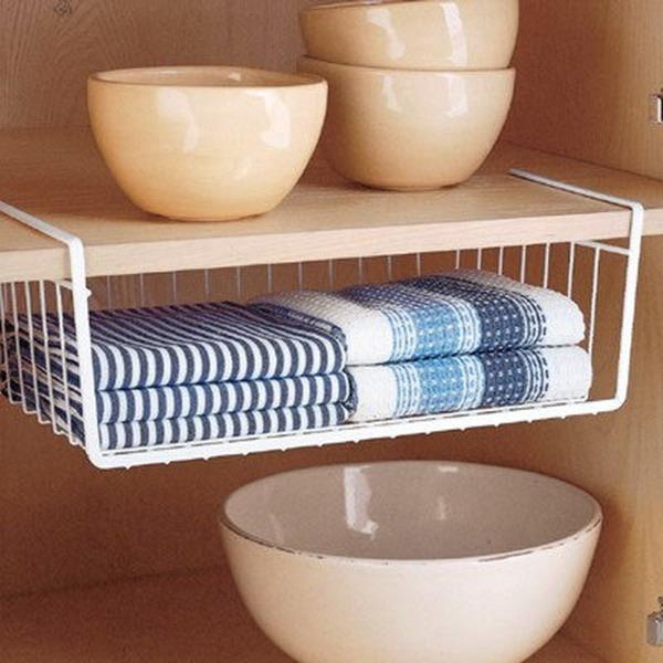 Kitchen Rails Storage Ideas