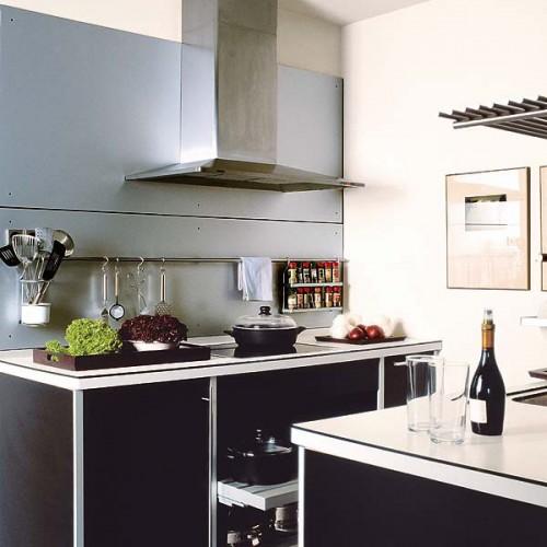 31 Practical Kitchen Rail Storage Ideas