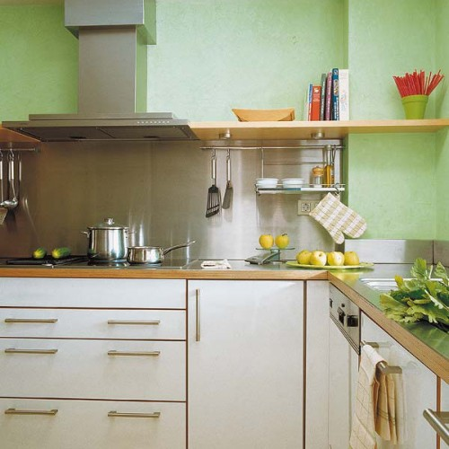 Functional And Practical Kitchen Solutions For Small: 31 Practical Kitchen Rail Storage Ideas