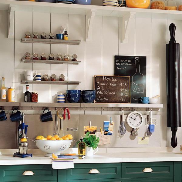 Kitchen Rails Storage Ideas Shelterness