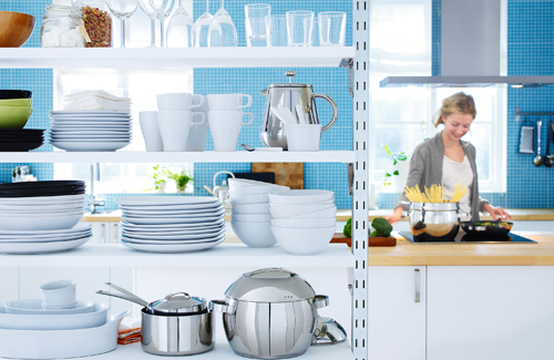 8 Ideas To Use Room Divider As An Extra Storage Space On A Kitchen