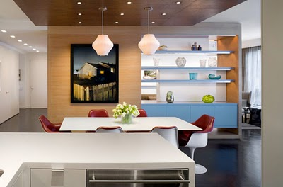 Kitchen With A Room Divider As Extra Storage With Storage Room Divider.