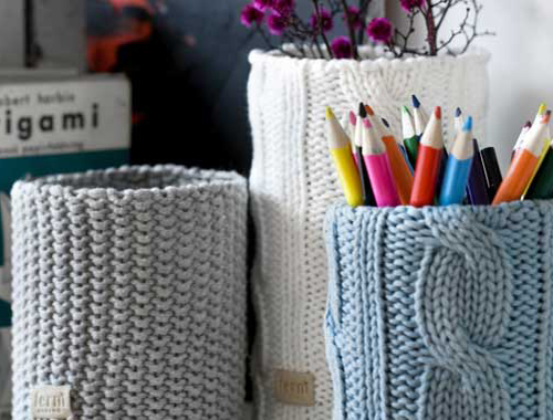 Knitted Decor Elements