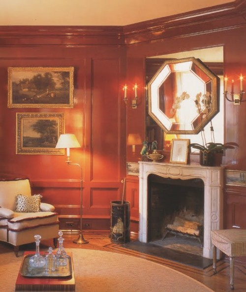 25 Rooms With Lacquered Walls Shelterness