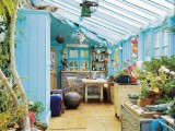Large Greenhouse With A Potting Shed