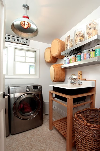 10 Cozy Laundry Room Decorating Ideas