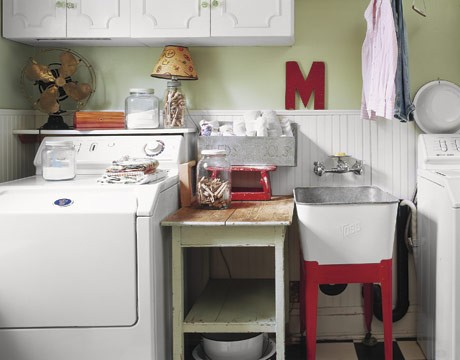 Decorating an utility room is as important as decorating any other room. You could spend lot of time there...