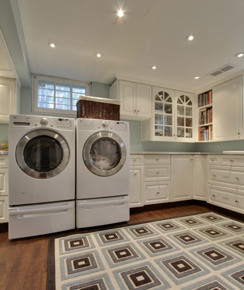 laundry room design ideas shelterness