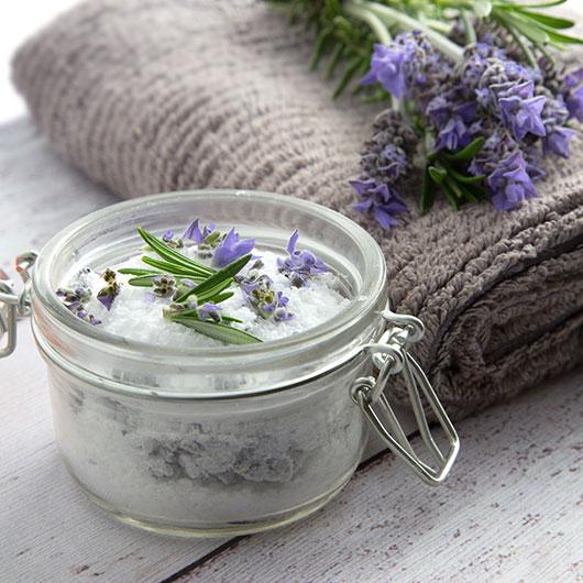 lavender back pain bath salts