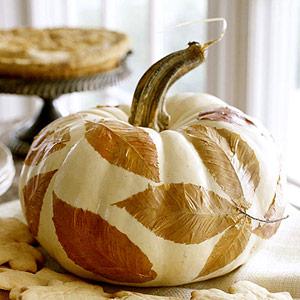 Leaves Fall Pumpkin Decoupage