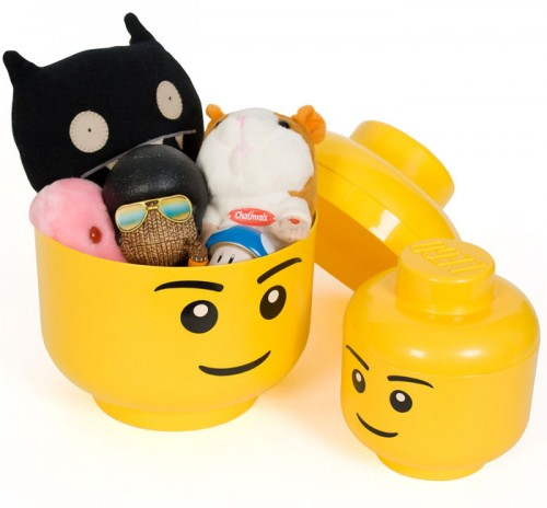 Lego Heads Storage Boxes