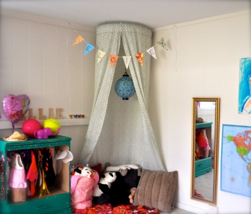 5 Minute No Sew Canopy Via