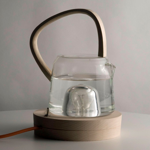 Tea Kettle That Uses A Light Bulb To Heat Water Shelterness