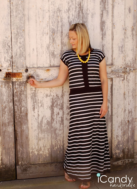 vintage maxi dress (via icandyhandmade)
