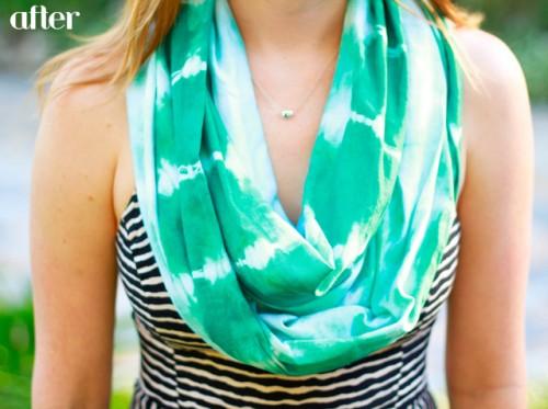 tie-dye scarf (via mycalicoskies)