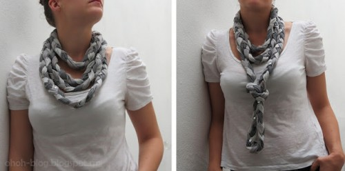 braided scarf (via ohoh-blog)