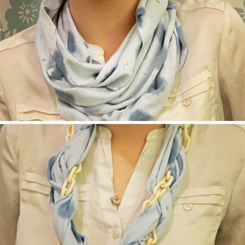 non-sew infinity scarf (via shrimpsaladcircus)