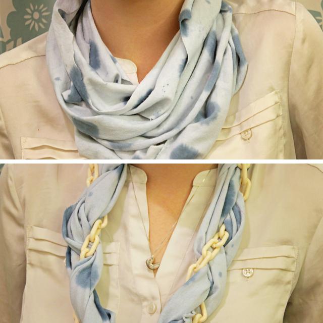 non sew infinity scarf