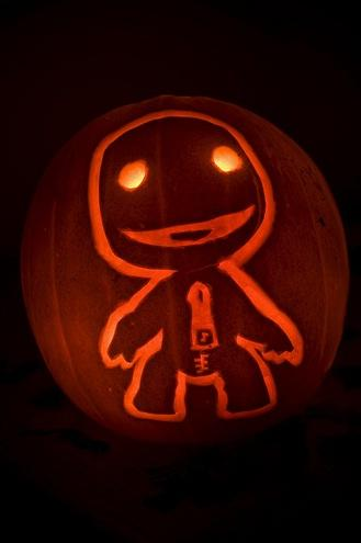 Little Big Planet Sackboy Pumpkin