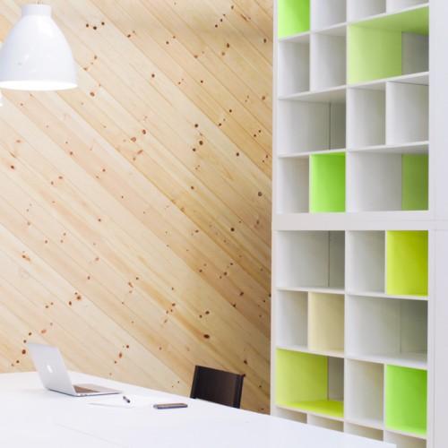 IKEA KAllax neon hack (via flaxandtwine)