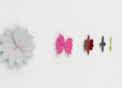 Cool Lotus Inspired Wall Clocks