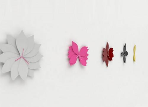 Cool Lotus Inspired Wall Clocks
