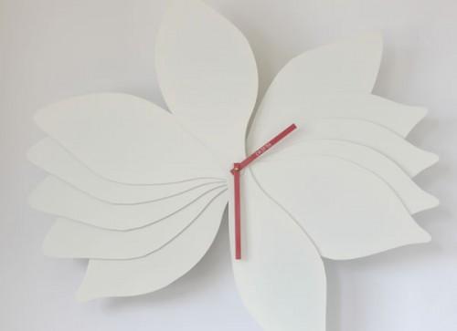 Lotus Inspired Wall Clocks