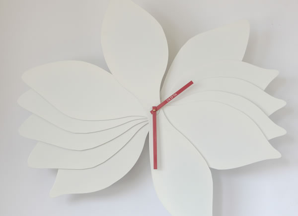 Lotus Inspired Wall Clocks