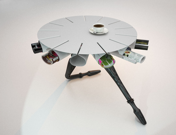 Lounge Table Inspired By Russian Ballet Dancers