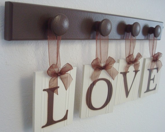 Love Lettering In Interior Decorating