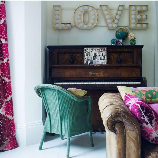 Love Lettering In Interior Decorating