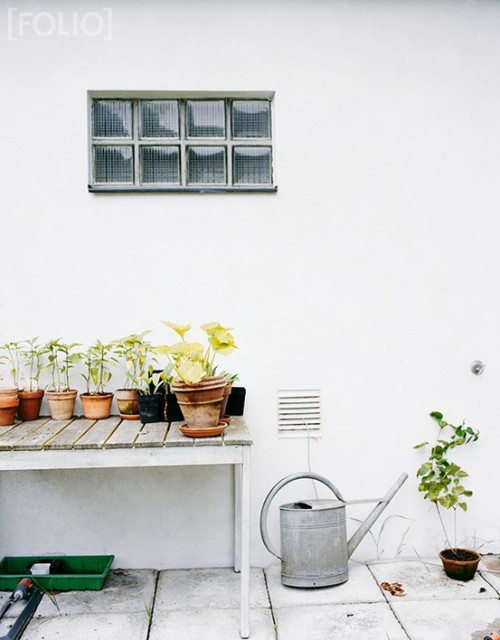 Lovely Scandinavian Potting Station