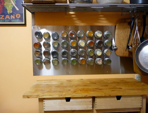 Beau 10 Magnetic Spice Storage Solutions